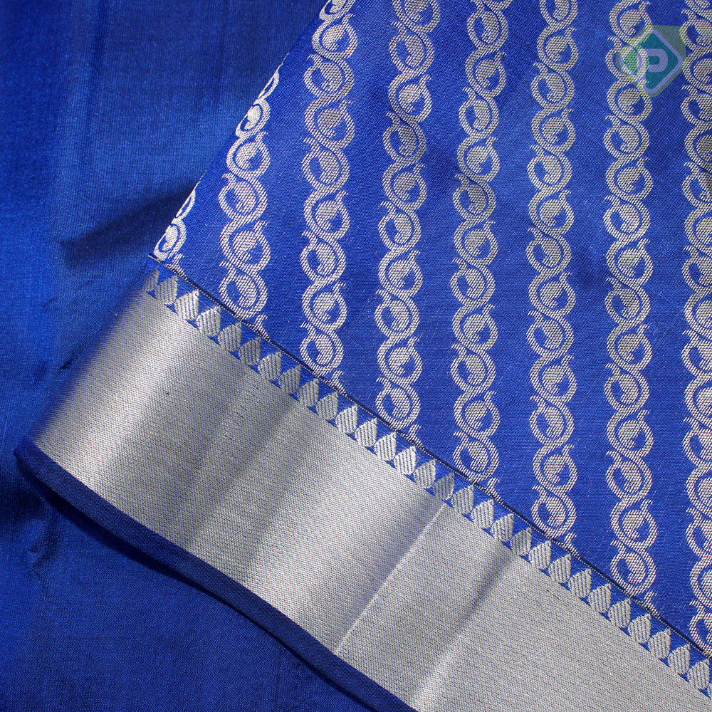 Royal Blue Colour Gift Silk Saree