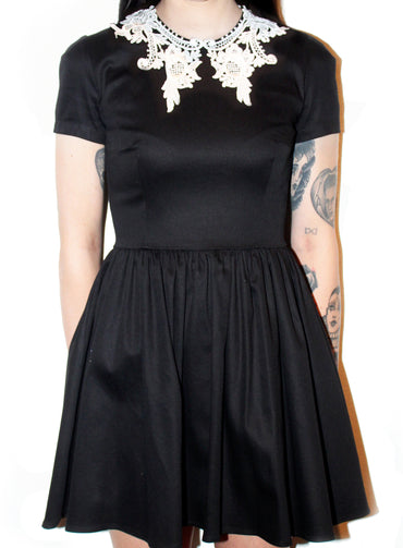 ROSELLE LACE COLLAR (short) [XS-M] [4-5XL] (discontinued)