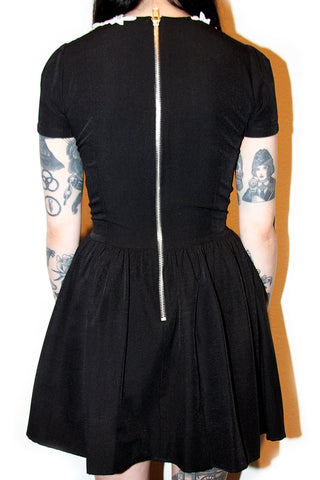 LACE COLLAR ROSELLE DRESS (LAST ONES)