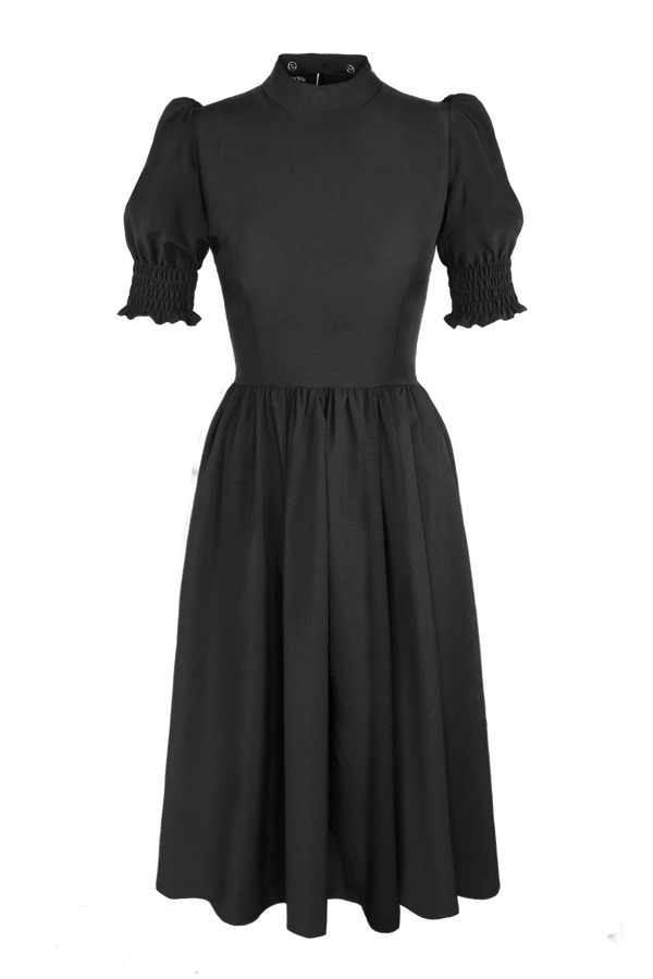 JAQUETTE SHIRRED DRESS [Pre-Sale] [Cult Collar Collection]