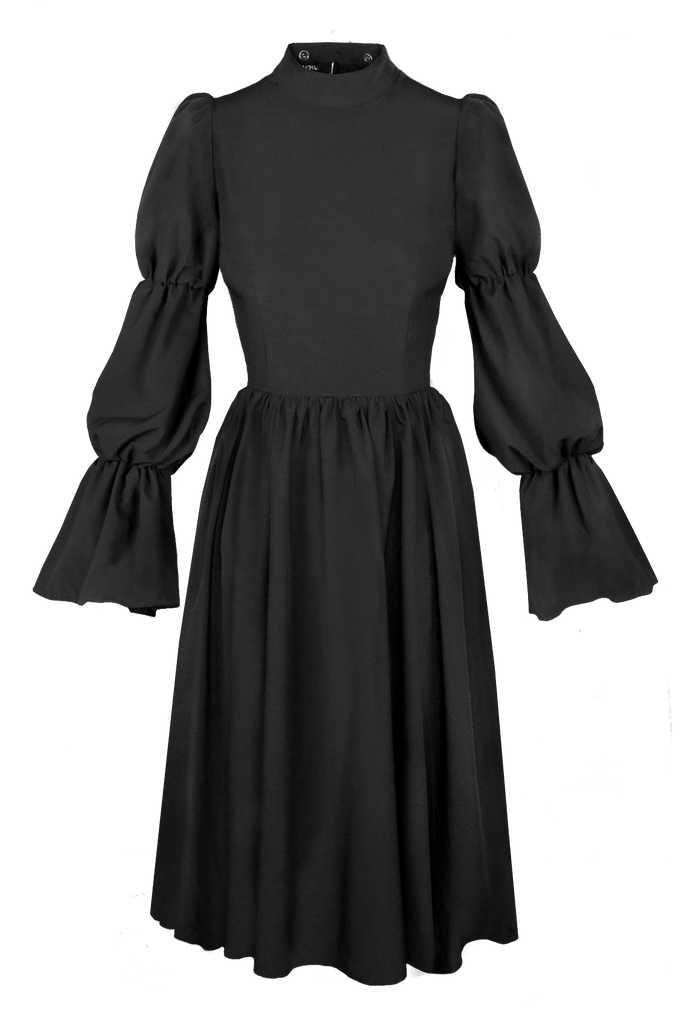 MACBETH SHIRRED DRESS [Cult Collar Collection]