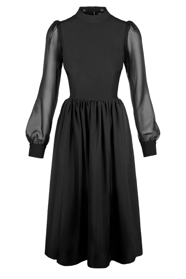 NOSFERATU DRESS [L-LG] [Cult Collar Collection]