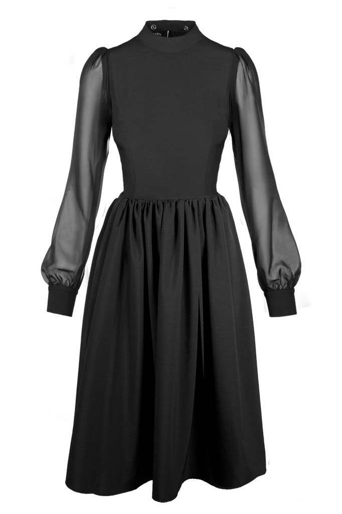 NOSFERATU SHIRRED DRESS [Cult Collection]  [Pre-Sale]