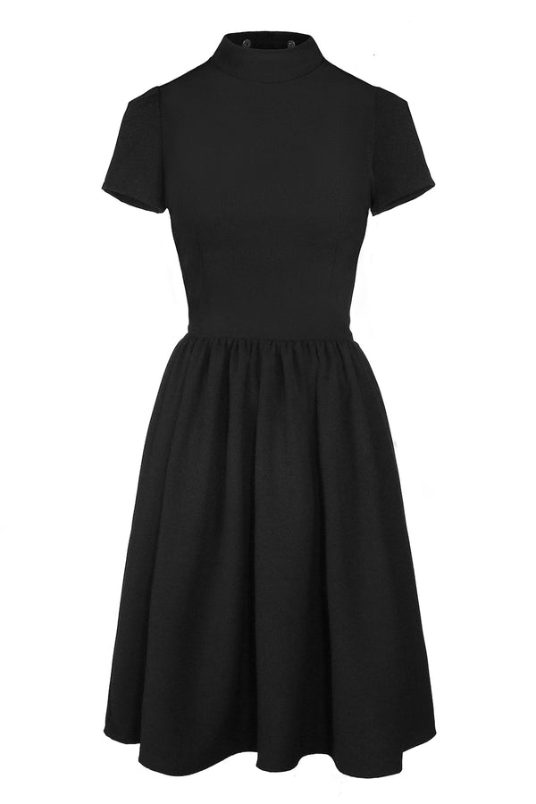 ROSELLE DRESS MEDIUM LENGTH [DETACH COLLAR | CULT]
