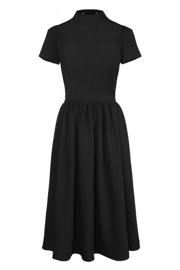 ROSELLE DRESS LONG LENGTH [DETACH COLLAR | CULT]