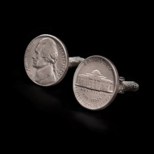 US 5 Cent Cufflinks