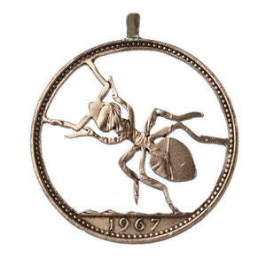 Ant - Coin Pendant