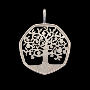 Apple Tree of Life - Coin Pendant