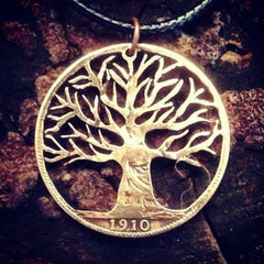 Ash Tree of Life - Coin Pendant