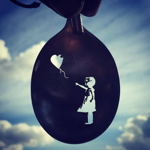 Banksy-tribute - The Balloon Girl