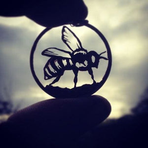 Busy Bee - Coin Pendant