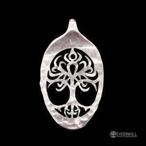 Celtic Tree of Life spoon pendant - Spoon Pendant