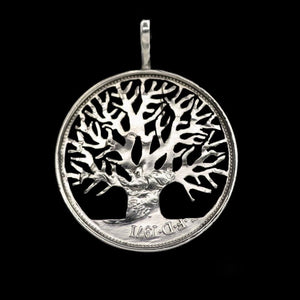Chunky Tree of Life - Coin Pendant