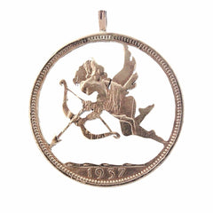 Cupid - Coin Pendant - Coin Pendant