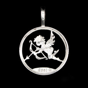 Cupid - Coin Pendant