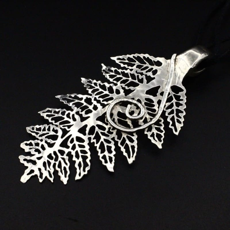 Fern Leaf - Spoon Pendant