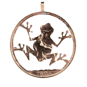 Frog - Coin Pendant