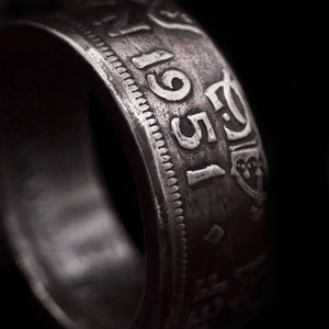 Half-Crown Coin Ring