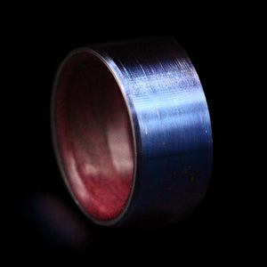 Hercules Wing Bearing Ring with Purpleheart Wood Insert