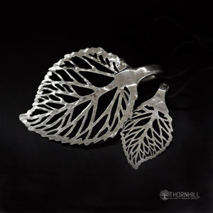 Linden Leaf - Spoon Pendant
