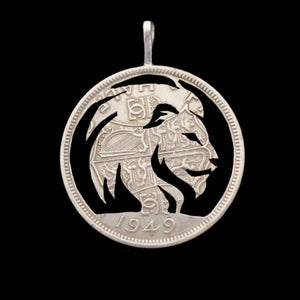Lion - Coin Pendant