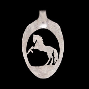 Rearing Horse - Spoon Pendant