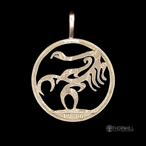 Scorpion - Coin Pendant