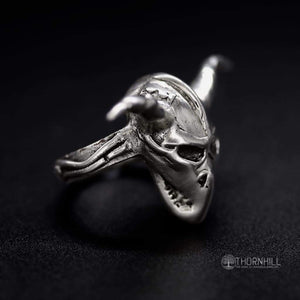 Silent Demon Scull Ring £300 - Rings
