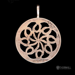 Simple Flower of Life - Coin Pendant