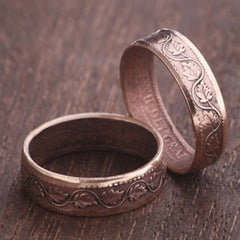 Old Canadian Cent - Coin Ring - Thornhill Favourite