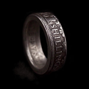 Two Shilling  Coin Ring