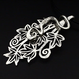 Vine Leaves - Spoon Pendant