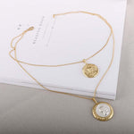 Cici Layered Coin Necklace