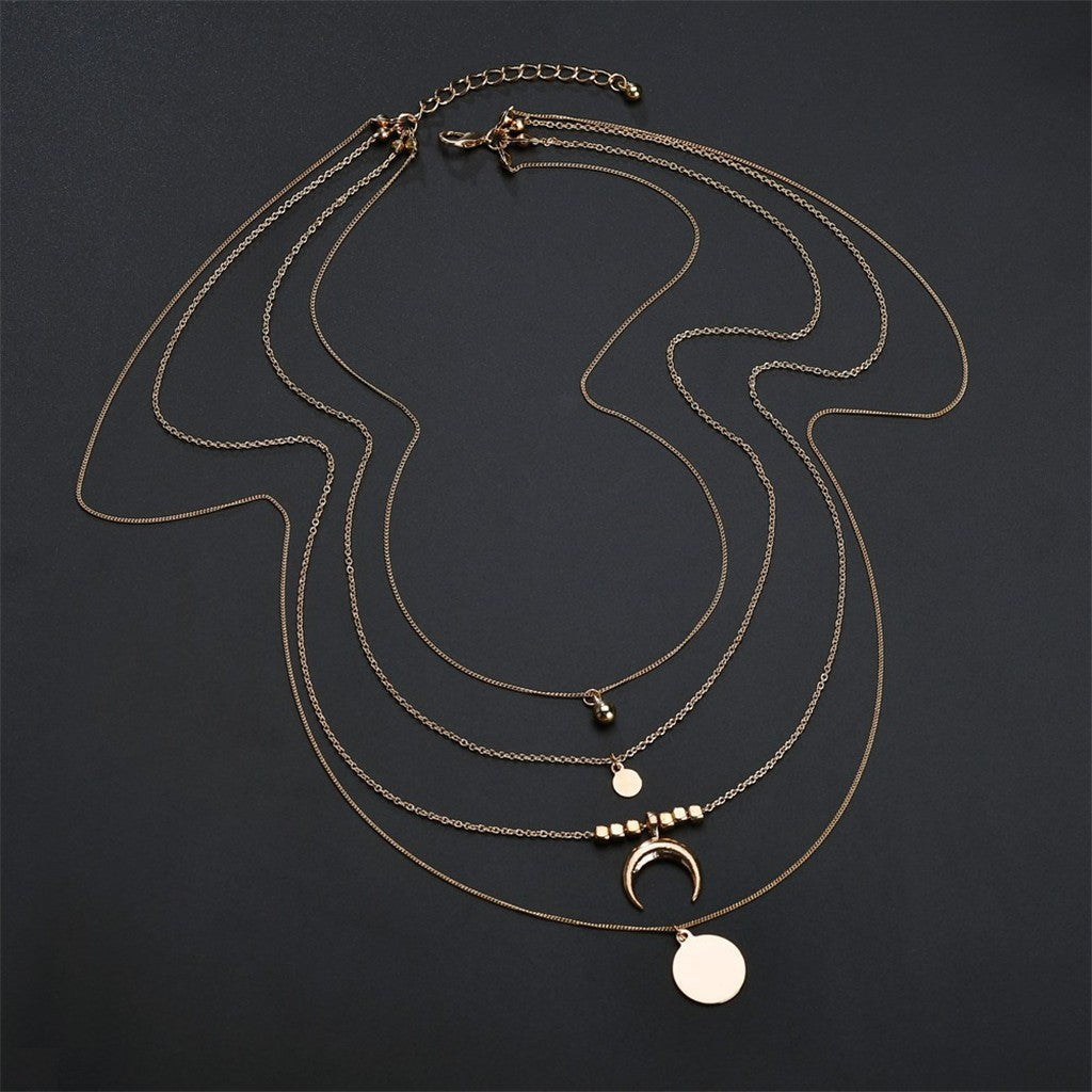 Claw Multi-Layered Necklace