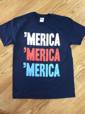 LIMITED EDITION 'Merica 'Merica 'Merica Short Sleeve T-Shirt