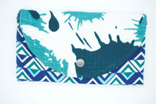 Load image into Gallery viewer, One of a Kind Upcycled Trifold Wallet - [glamberger_originals]