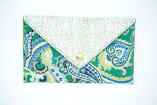 Load image into Gallery viewer, One of a Kind Upcycled Patchwork Wallet - [glamberger_originals]