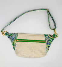 Load image into Gallery viewer, Upcycled Luxe Fanny Pack