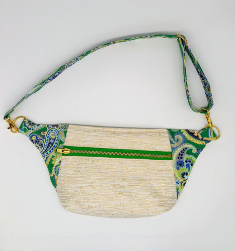 Upcycled Luxe Fanny Pack