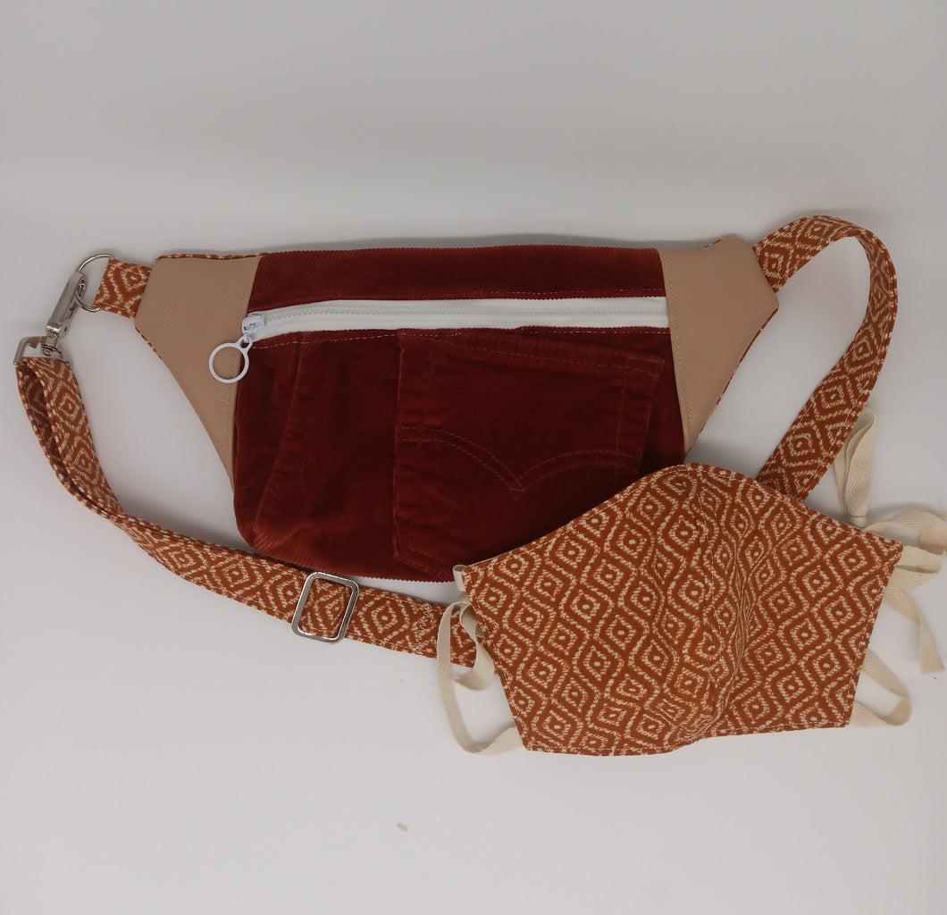 Fanny Pack and Mask Set