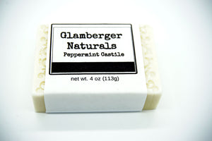 Organic Peppermint Castile Soap - [glamberger_originals]