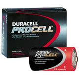 Duracell PC1400 Procell Alkaline C Batteries, 12 Count