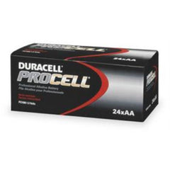 Duracell PC1500 Procell Alkaline AA Battery, 24 Count