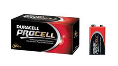 Duracell PC1604 Procell Alkaline 9 Volt Batteries ,12 Count