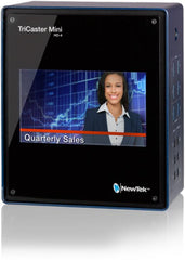 "NewTek TriCaster Mini HD-4i with Built-In 7"" Display"