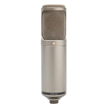 "RODE Microphones K2 Variable Pattern Dual 1"" Condenser Valve Microphone"