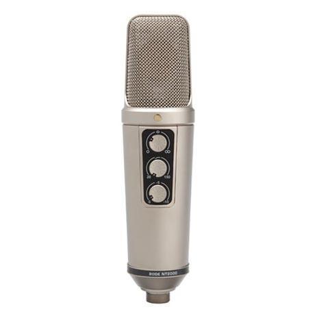 "RODE Microphones NT2000 Variable Dual 1"" Condenser Microphone"