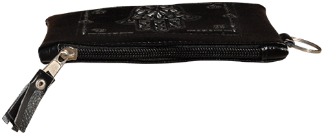 Maroccan khmissa pouch clutch bag Black color - Bijouterie en ligne - 2