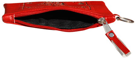 Maroccan khmissa pouch clutch bag Red color - Bijouterie en ligne - 2
