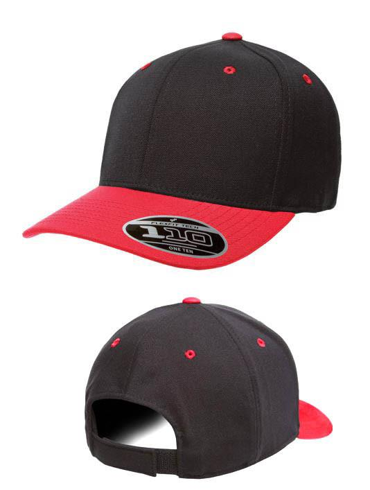 Flexfit Cool & Dry Pro-formance black red